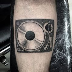 Cool Turntable Tattoo Turntabletattoo