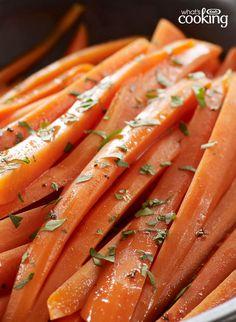 Balsamic-Glazed Carrots #recipe