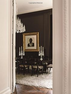 "Image from the Book ""Parisian Interiors"" by Barbara Stoeltie, & Rene Stoeltie, with foreword by Jacques Garcia."