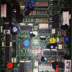 DC Motor Sürücü Kontrol Kartı - DC Motor Drive Control Board #dcmotor #board #controlboard #control #dcdrive #drive www.elektrikce.com