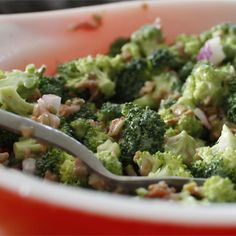 """Fresh Broccoli Salad 