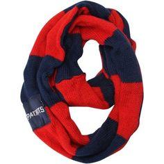 New England Patriots Women's Colorblock Infinity Scarf