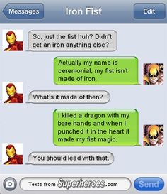 15 Texts from Last Night (From Famous Superheroes) Pt. 2 | Cracked.com