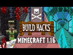 NEW Minecraft 1.16 Nether Update Build Tips & Ideas! - YouTube Minecraft 1, Minecraft Buildings, Minecraft Commands, Minecraft Crafting Recipes, Splatoon Memes, Hard Work And Dedication, Map, Make It Yourself, Video Game