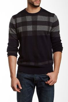 Toscano Long Sleeve Merino Wool Blend Sweater by Toscano on @nordstrom_rack