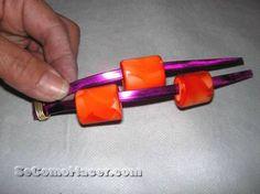 Cómo hacer pulseras y anillos con hilos mágicos o alambres :: Anillo y pulsera con hilo mágico