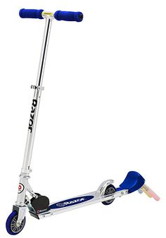 I had so much fun playing with my razor scooter. Memories. :)