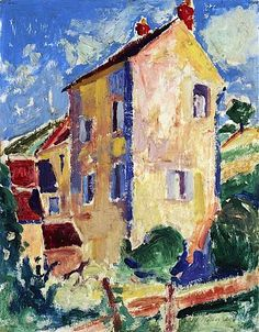 Alfred Henry Maurer (American, 1868-1932)   House