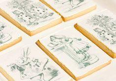 Alice in Wonderland Tea Party : Vintage Cookies