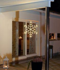LED Light Up Christmas Hanging Snowflake