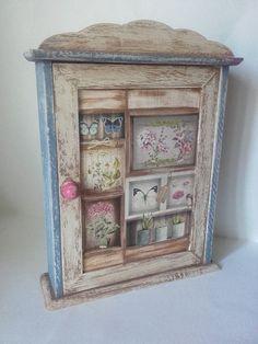 Antikolás fára csiszolással - Vintage hatás antikolással Decorative Boxes, Decor, Frame, Decoupage, Home Decor
