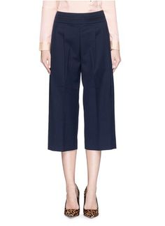J.CREWCollection cropped wide-leg pant