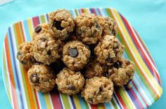 No-Bake Raisin and Chocolate Chip Granola Balls - RachaelRay.com