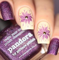 piCture pOlish HOLO BLOOMS = 'Pandora' nails by Anya WOW!  Shop on-line: www.picturepolish.com.au