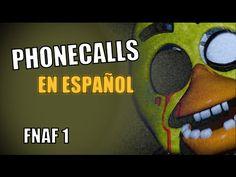 Todas las llamadas en español de Five nights at Freddy's 1 (Doblaje Fnaf) - YouTube
