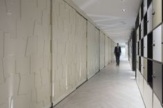 Bespoke sliding doors w/ our Jigsaw panels.