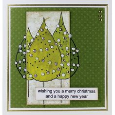 Woodware - Trio of Trees - Clear Magic - JGS417