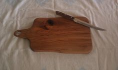 Hickory Cutting Board   Beautiful Wood Grain by NorCalWoodDesign, $15.00