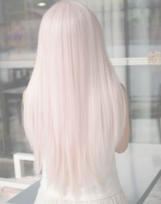 Red or Pink Hair Color Tones-Haare pastell , inspirierende modelle zu testen Pastel Pink Hair, Baby Pink Hair, Long Pink Hair, Pink Blonde Hair, Pastel Wig, Long White Hair, Pale Blonde, Violet Hair, Brunette Hair