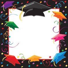 Graduation Clip Art, Graduation Images, Graduation Decorations, Graduation Party Invitations, Graduation Gifts, Preschool Decor, Art Rubric, Students Day, Homemade Birthday Cards
