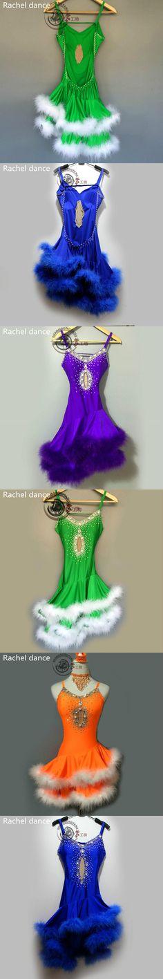 2017 New Latin Dance Costumes Sexy Senior Gauze Tassel Latin Dance Dress For Women Latin Dance Dresses Ballroom Dance Skirts