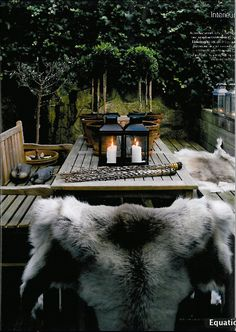Winter outdoor decor A touch of Luxe
