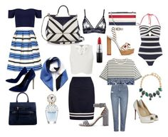 """""""Nautical ☀️"""" by jade-robyn on Polyvore featuring Dolce&Gabbana, Ted Baker, Stuart Weitzman, Marc Jacobs, Paul & Joe Sister, Topshop, Erickson Beamon, Mulberry, Sophia Webster and Hobbs"""