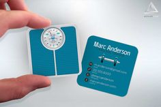 Personal Trainer  Mini Business Cards  Fitness/Gym  Design
