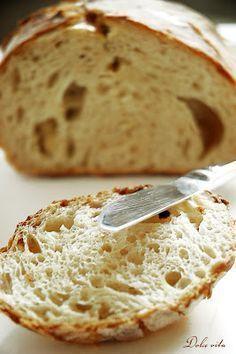 Tökéletes, lukacsos, ropogós szélű kenyér – ezt sosem gondoltam volna | Dolce Vita Blog Pastry Recipes, Cake Recipes, Cooking Recipes, Baking And Pastry, Bread Baking, Ital Food, Clean Eating Chocolate, Vegan Bread, Hungarian Recipes
