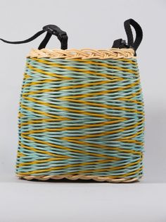 Bike Basket Small by WOVENRAINBOWS on Etsy