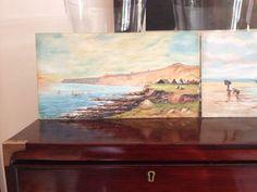 Old English Coast Painting - Beatutiful indeed
