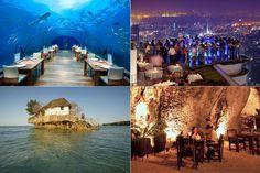 Die 16 abgefahrensten Restaurants weltweit
