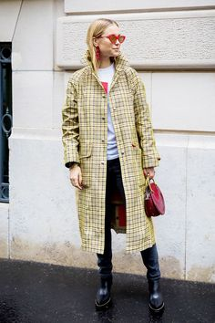 Plaid dresses, pants, and longline coats are the three pieces you'll wear this winter and beyond. See and shop the looks!