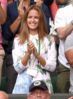 Pin for Later: We Played Spot the Celebrity Tennis Fan at Wimbledon Kim Murray