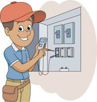 Electrician Worker Clip Art