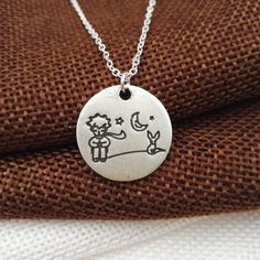 The Little Prince And Fox Necklace