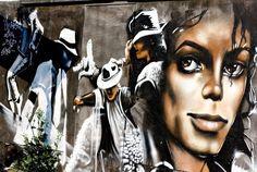 #MichaelJackson Street Art, Paris, France #MJAPWNN #DENoName