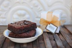 Vermont Brownie Company #wedding #favors
