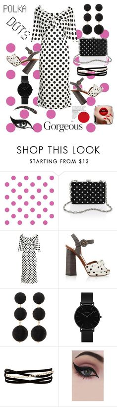 """""""So Dottie: Polka Dots💋"""" by mdfletch ❤ liked on Polyvore featuring York Wallcoverings, Dolce&Gabbana, Cara Accessories, CLUSE, Kenneth Jay Lane, Concrete Minerals and PolkaDots"""