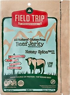 Field Trip Honey Spice No.11 Beef Jerky 1 Oz Pack of 12
