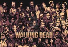 The Walking Dead by *sologfx - super detailed vector artwork