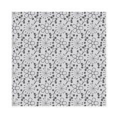 Camelot-Cottons-Fabric-Theodore-Izzy-Grey-Ditsy-Floral-100-Cotton-flower