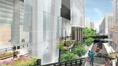 Designs for the last little 'spur' of the High Line include an Italian-style piazza | Inhabitat New York City