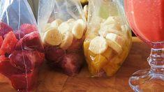 Frutas Congeladas para Sucos e Smoothies