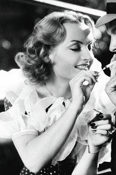 """jodockerys: """" Carole Lombard, Hands Across the Table (1935) """""""