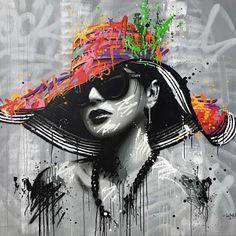 Street Mural, Street Art Graffiti, Pop Art, Images D'art, Collage Portrait, Graffiti Painting, Arte Pop, Art Moderne, African Art