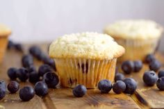 Perfect Blueberry Muffins are easy and delicious! A perfect breakfast recipe that you can make ahead, and even freeze for later. This recipe was handed down through the generations, and let me tell you, it is FABULOUS! Best Blueberry Muffins, Blue Berry Muffins, How To Make Breakfast, Perfect Breakfast, Brunch Recipes, Breakfast Recipes, Freezer Breakfast Burritos, Fried Apple Pies, Summer Desserts