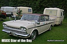 MSCC Oct 16 Star of the Day-'60 Rambler on the road in 2010. The real world...here's why: http://www.mystarcollectorcar.com/3-the-stars/40-model-stars/2474-mscc-southside-star-of-the-day.html