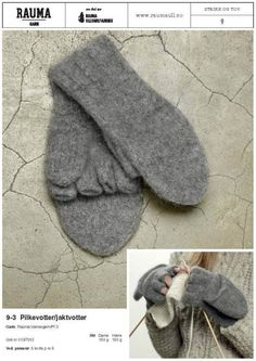 Dagens gratisoppskrift: Pilkevotter/jaktvotter Yarn Inspiration, Knitted Gloves, Couture, Hand Warmers, Drops Design, Mittens, Ravelry, Knitting Patterns, Knit Crochet