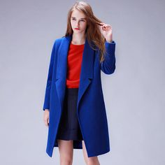 YuooMuoo Brand Design Winter Coat Women Warm Cotton-padded Wool Coat Long Women's Cashmere Coat European Fashion Jacket Outwear Isn`t it awesome? Visit us